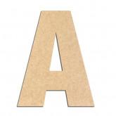 Lettre en bois à décorer A- Alphabet Basic
