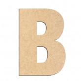 Lettre en bois à décorer B- Alphabet Basic