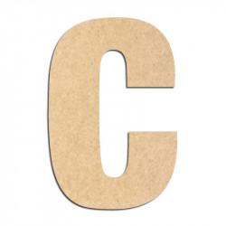 Lettre en bois à décorer C- Alphabet Basic