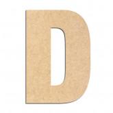 Lettre en bois à décorer D- Alphabet Basic