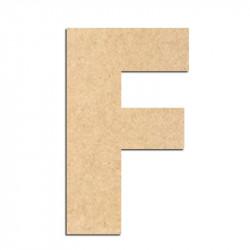 Lettre en bois à décorer F- Alphabet Basic