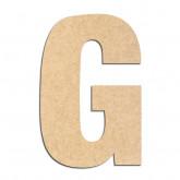 Lettre en bois à décorer G- Alphabet Basic