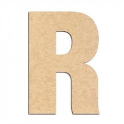 Lettre en bois à décorer R- Alphabet Basic