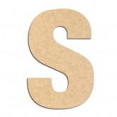 Lettre en bois à décorer S- Alphabet Basic
