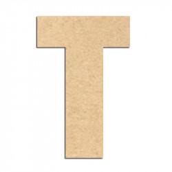 Lettre en bois à décorer T- Alphabet Basic