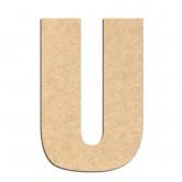 Lettre en bois à décorer U- Alphabet Basic