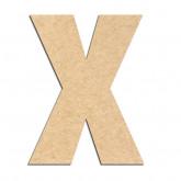 Lettre en bois à décorer X- Alphabet Basic