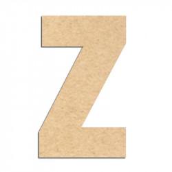 Lettre en bois à décorer Z- Alphabet Basic