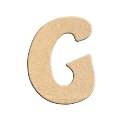 lettre g peindre d corer lettre en bois brut lettre bois. Black Bedroom Furniture Sets. Home Design Ideas