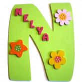 Plaque de porte fleurs