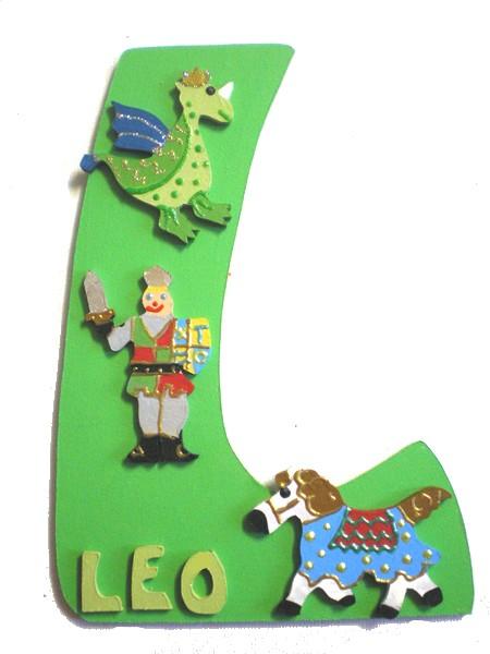 Plaque de porte chambre gar on d coration chevalier lettre bois - Plaque de porte design ...